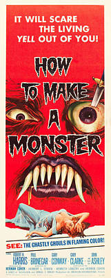 How To Make A Monster Art Print