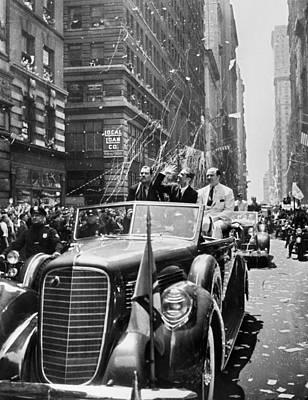 Whalen Photograph - Howard Hughes (1905-1976) by Granger