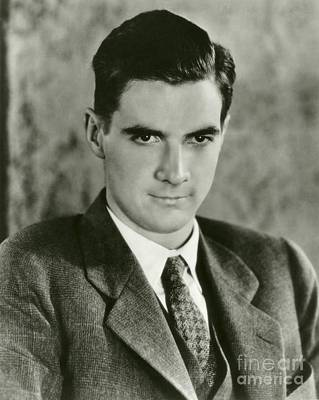 Howard Hughes, Us Aviation Pioneer Art Print by Manuscripts And Archives Division