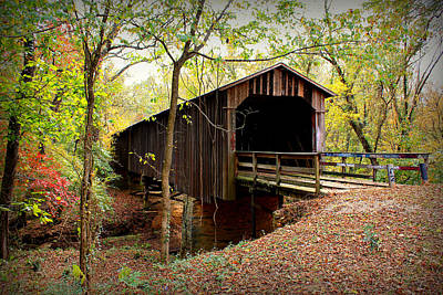 Photograph - Howard's Covered Bridge by Reid Callaway