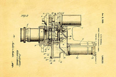 Howell Direct Viewing Camera 2 Patent Art 1929 Art Print by Ian Monk