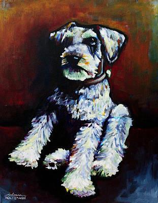 Painting - Howie by Arleana Holtzmann