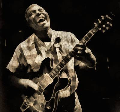 Painting - Howlin' Wolf by Dan Sproul