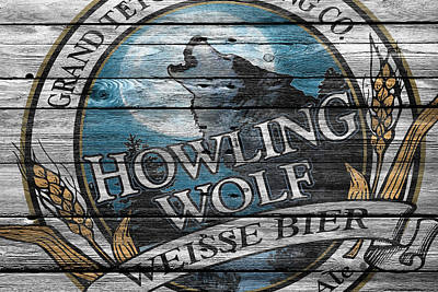 Hop Photograph - Howling Wolf by Joe Hamilton