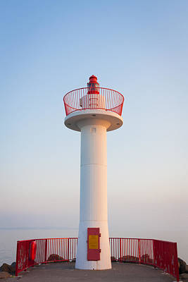 Photograph - Howth Lighthouse Beacon by Semmick Photo