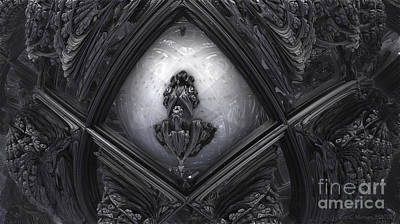 Hr Giger In Memorium Art Print
