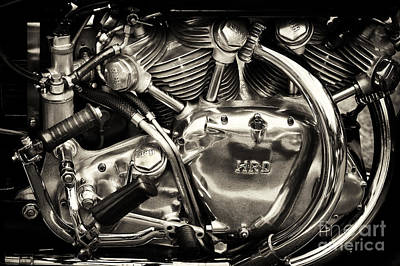 Photograph - Hrd Engine by Tim Gainey