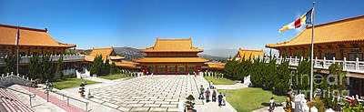 Hsi Lai Temple - 09 Art Print by Gregory Dyer