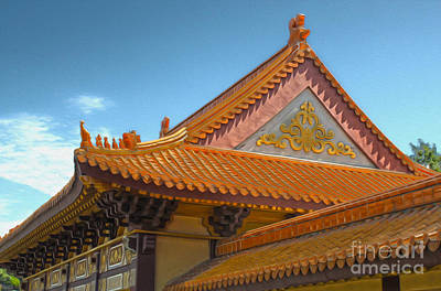 Hsi Lai Temple - 01 Art Print by Gregory Dyer