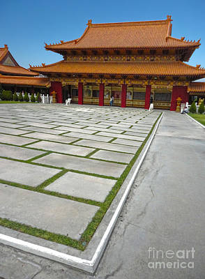 Hsi Lai Temple - 04 Art Print by Gregory Dyer