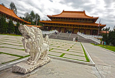 Hsi Lai Temple - 05 Art Print by Gregory Dyer