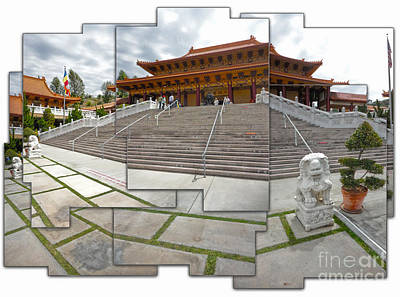 Hsi Lai Temple - 06 Art Print by Gregory Dyer
