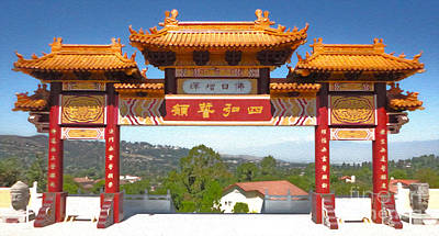 Hsi Lai Temple - 11 Art Print by Gregory Dyer