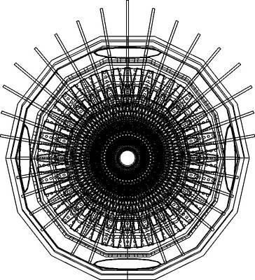 Hte Wireframe Front Original by Chris  Morton
