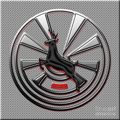 Digital Art - Hub Cap by Methune Hively