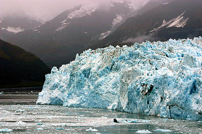 Photograph - Hubbard Glacier by Richard Engelbrecht
