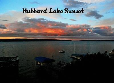 Photograph - Hubbard Lake by Gary Wonning