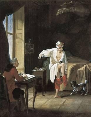 1759 Photograph - Huber, Jean Rudolf 1721-1786. The Levee by Everett