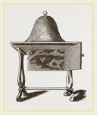 Ant Drawing - Hubers Ant-apparatus by Litz Collection