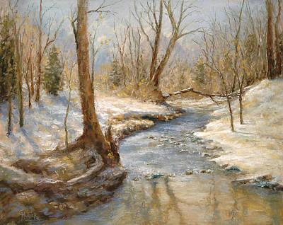 Hubers' Woods Art Print by Gary Huber