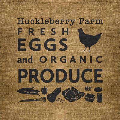 Digital Art - Huckleberry Farm by Nancy Ingersoll