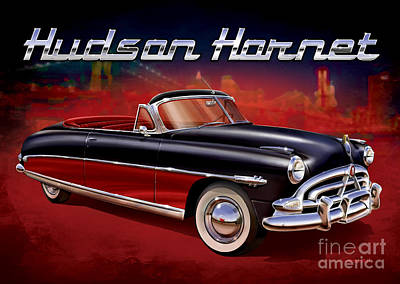 Black Top Digital Art - Hudson By The Hudson by Sean Svendsen