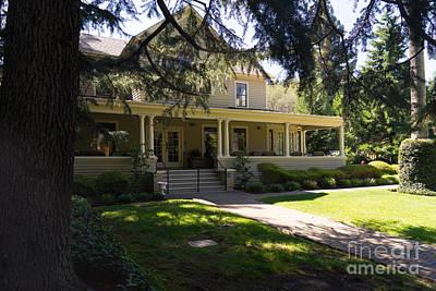 Photograph - Hudson House At Beringer Winery St Helena Napa California Dsc1715 by Wingsdomain Art and Photography