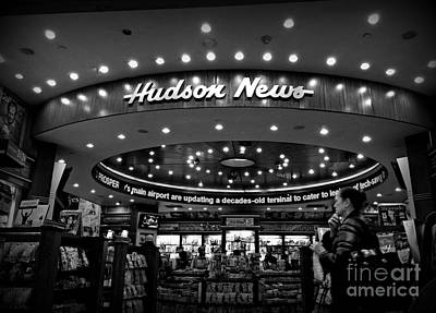 Photograph - Hudson News - Everything For The Traveler by Miriam Danar