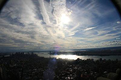 Photograph - Hudson River Nyc by Debbie Cundy