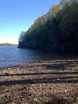 Photograph - Hudson River Shoreline by Dayna Winters