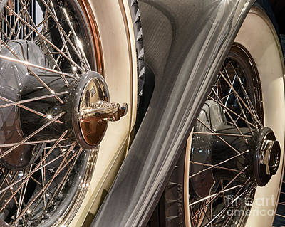 Art Print featuring the photograph Hudson Spare Tire by JRP Photography