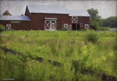 Photograph - Hudson Valley Barn by Fran Gallogly