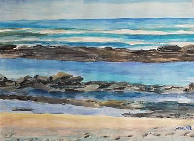 Nicaragua Painting - Huehuete Beach by Marino Chanlatte