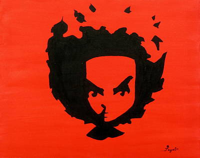 Newton Painting - Huey by Artistic Indian Nurse