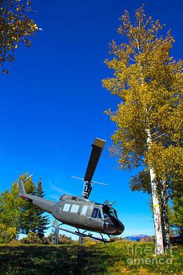 Photograph - Huey Chopper by Jim McCain