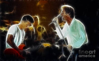 Gary Gingrich Photograph - Huey Lewis-chris-gd15a-fractal-1 by Gary Gingrich Galleries