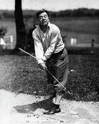 Golf Photograph - Huey P. Long Play Golf by Artist Unknown