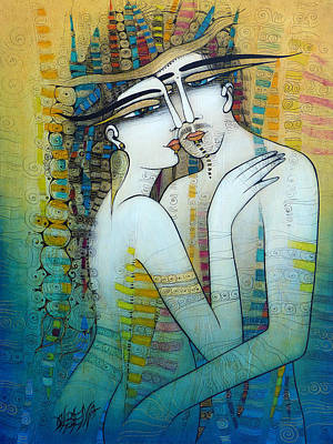 Painting - Hug Me by Albena Vatcheva