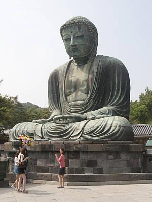 Photograph - Huge Buddha by Masami Iida
