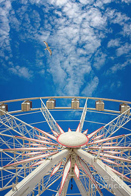 Huge Ferris Wheel Art Print