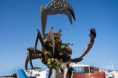 Photograph - Huge Metal Crab by Brenda Kean