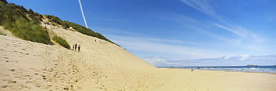 County Antrim Photograph - Huge Sand Dune At White Rocks Bay by Panoramic Images