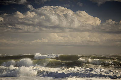 Huge Waves Crashing On Nauset Beach Original by Dapixara