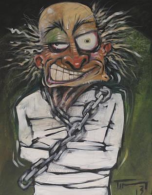 Hugh Dini Escape Artist Original by Tim Nyberg