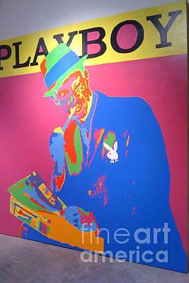 Hugh Hefner 1953 Original by Ryan Paul Simmons