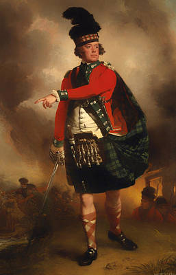 Scotland Painting - Hugh Montgomerie 12th Earl Of Eglinton by Mountain Dreams