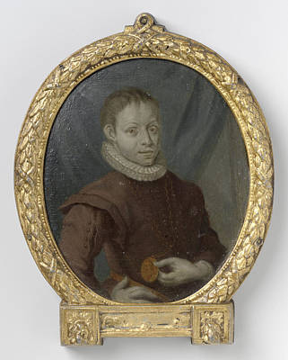 Van Halen Drawing - Hugo De Groot At A Young Age, Arnoud Van Halen by Litz Collection