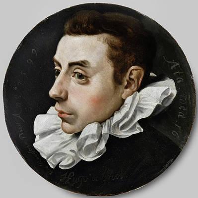 Hugo De Groot Sixteen Years Old, Jan Antonisz Van Ravesteyn Art Print by Litz Collection