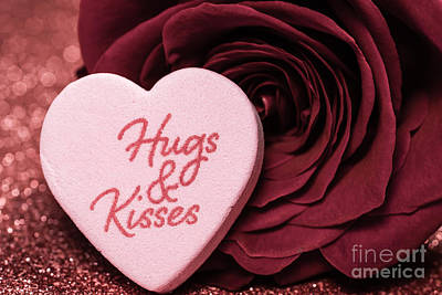 Photograph - Hugs N Kisses by Julie Clements
