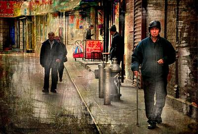 China Town Photograph - Huizhou  by Diana Angstadt